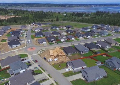 The Ridge Courtenay real estate drone photos